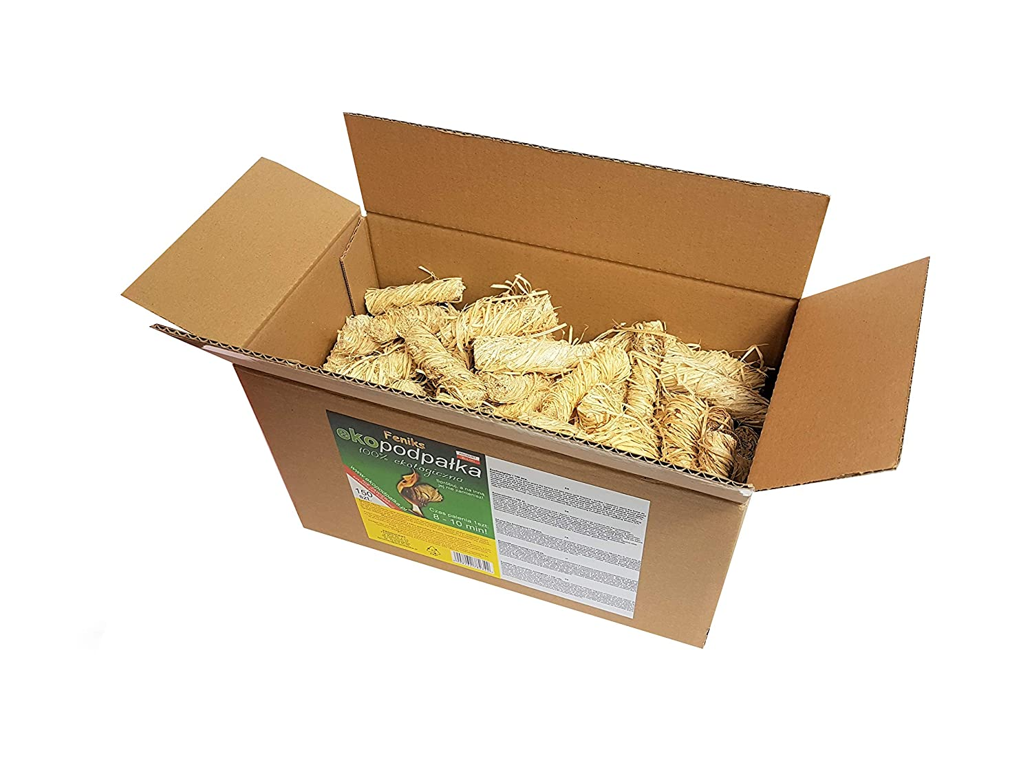 Feniks Firelighters 50+5pcs. for free = 55pcs. in the box, For Fireplace, Stoves, Barbecues and Campfires … Barbecues and Campfires ... Feniks Sp. z o.o.