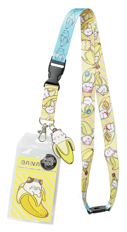 Amazon.com: Bananya - Soporte para tarjeta de identificación ...