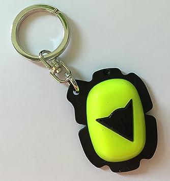 Dainese Slider Keys Holder Keyring. Llavero Rodilleras. Neon ...