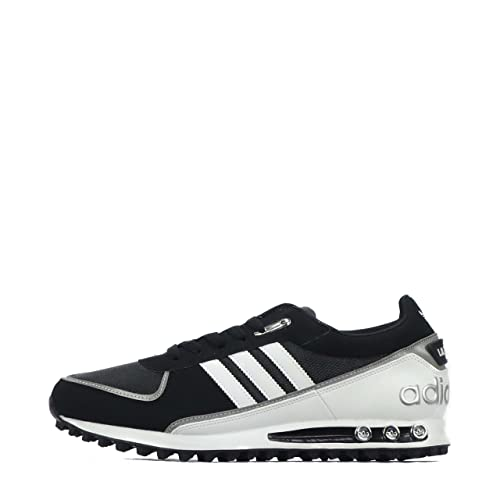 Adidas Originals la Trainer II scarpe da uomo, (Black/Metallic Silver/White