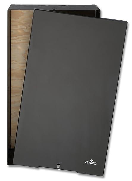 Amazon Com Leviton 47602 24e Media Versatile Panel Enclosure For