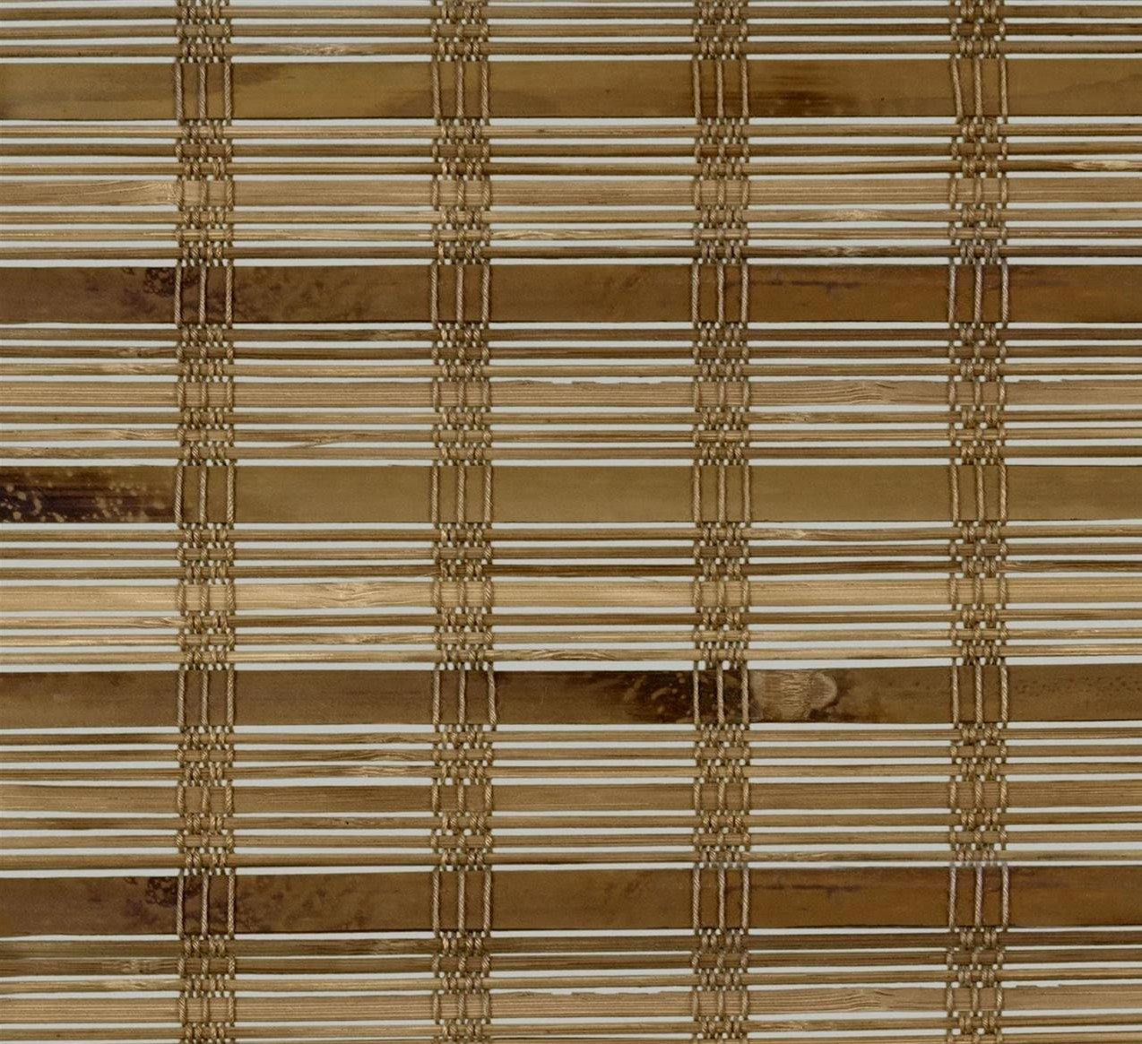 "Arlo Blinds Dali Native Cordless Bamboo Blinds - Sample Swatch only, only Approximately 4"" x 6"", not a Working Shades Blinds, for You to Review The Color and Pattern Before Ordering Bamboo Shades"
