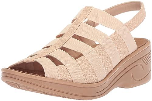 93c7d0dc50ef Easy Street Women s Floaty Wedge Sandal  Amazon.co.uk  Shoes   Bags