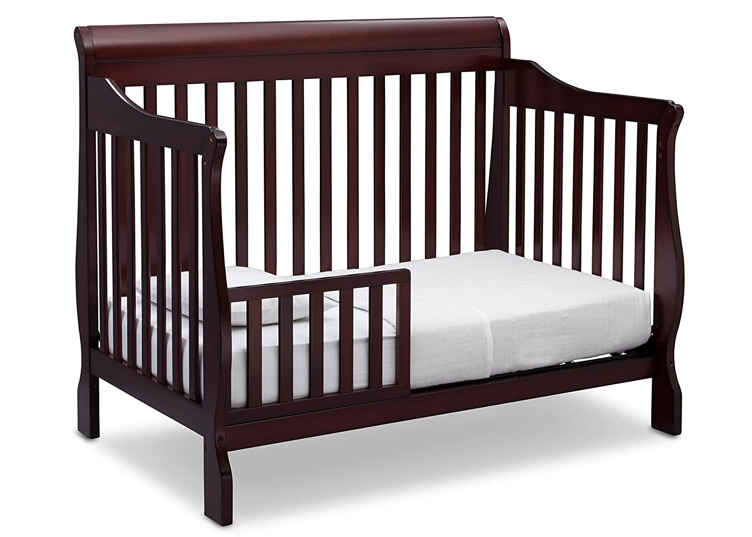 amazoncom delta children canton 4in1 convertible crib espresso cherry baby