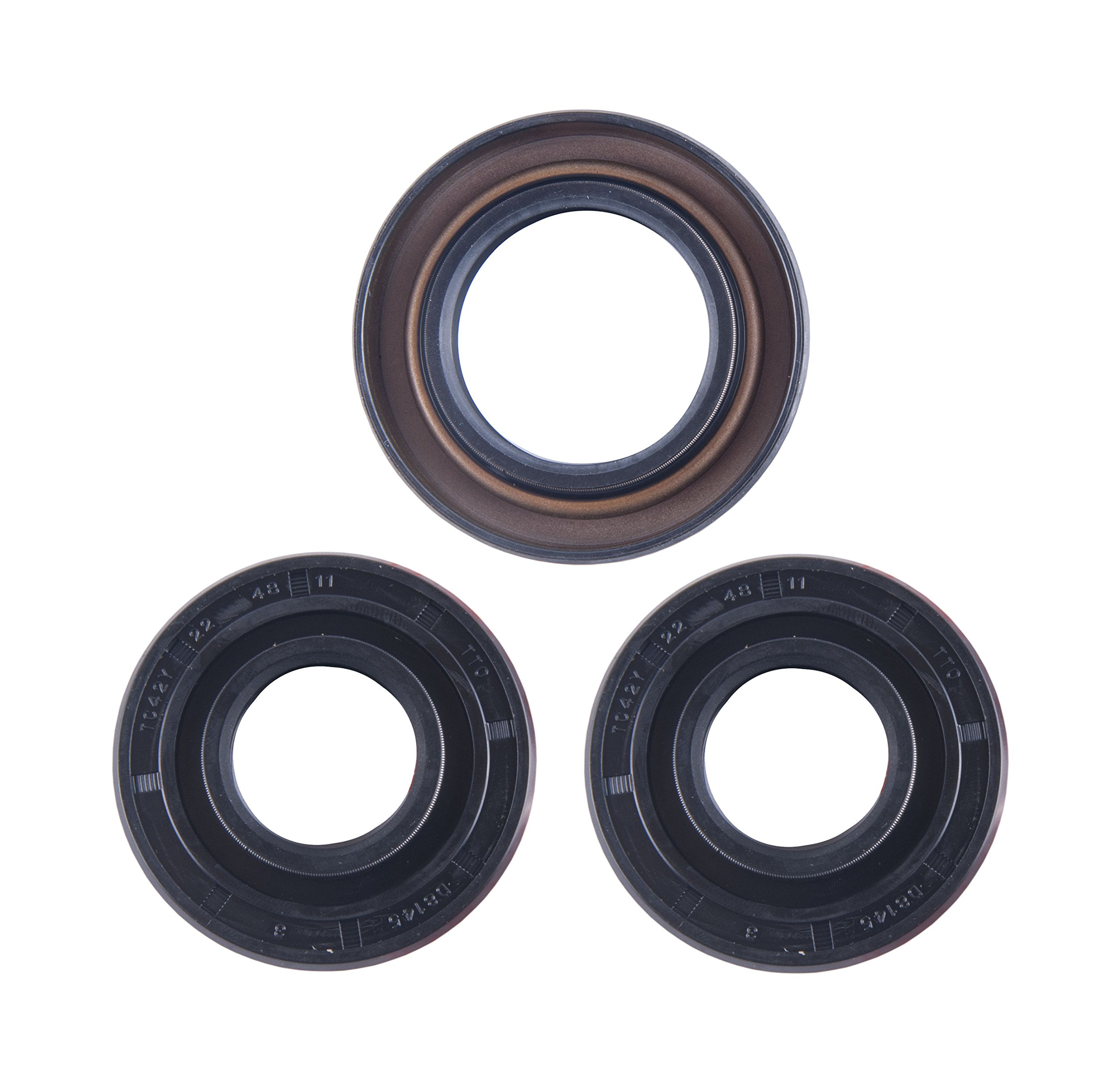 East Lake Axle Front differential seal kit compatible with Honda TRX 300 FW 1988 1989 1990 1991 1992-2000 by East Lake Axle