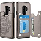 HianDier Wallet Case for Galaxy S9 Plus, Slim Protective Case with Credit Card Slot Holder Flip Folio Soft PU Leather…