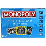 Image for Monopoly: Friends The TV Series Edition Board Game for Ages 8 and Up; Game for Friends Fans (Amazon Exclusive)