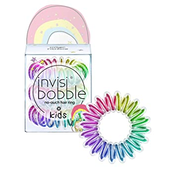 Amazon.com   invisibobble KIDS Magic Rainbow - the spiral shaped nou-ouch  hair ring - perfect hair ring for kids d035bbc0151