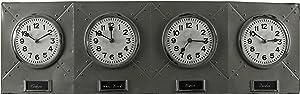 Cooper Classics 9260 Kenickie Clock, 35-Inch W x 10.5-Inch H