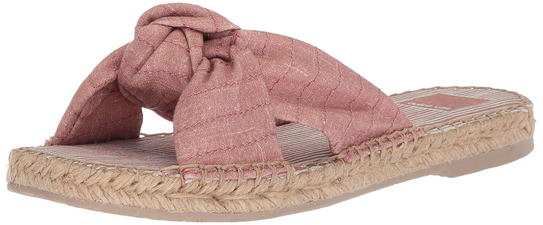 Dolce Vita Women's Benicia Slide Sandal B077QSHCYV 8.5 B(M) US|Blush Linen