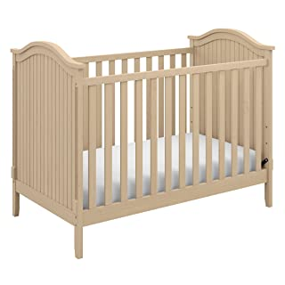 Storkcraft Monterey 3-in-1 Convertible Crib, Driftwood Easily Converts to Toddler Bed & Day Bed, 3-Position Adjustable Height Mattress