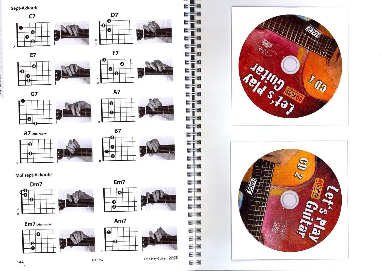 Let s Play Guitar banda 1 con 2 CD, DVD y de música de tarjeta de ...