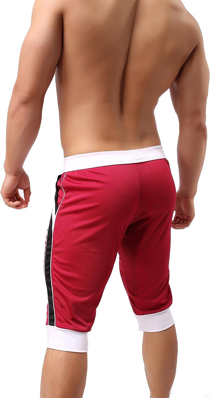 Comlife Mens Summer Beach Shorts Sports Thin Section Pants Capri Shorts
