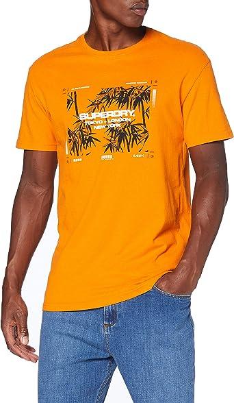 Superdry City Code tee Camisa para Hombre: Amazon.es: Ropa y accesorios