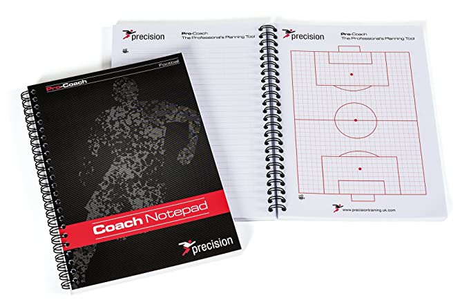 Cuaderno de notas para entrenador fútbol de Precisión, A5 ...