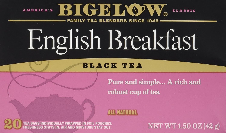 Bigelow Tea English Breakfast 20 Bags (3 Pack