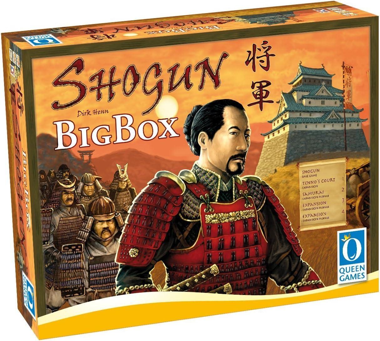 Shogun Big Box Strategy Board Game: Amazon.es: Juguetes y juegos