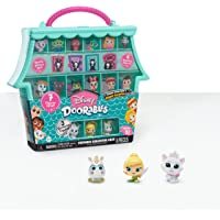 Just Play Disney Doorables Ultimate Collector Case, Includes 3 Exclusive Figures and 4 Mystery Figures from Series 5…