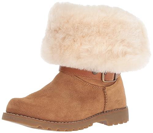 9477f9001c6 UGG Girls' K Nessa Fashion Boot, Chestnut, 1 M US Little Kid: Amazon ...