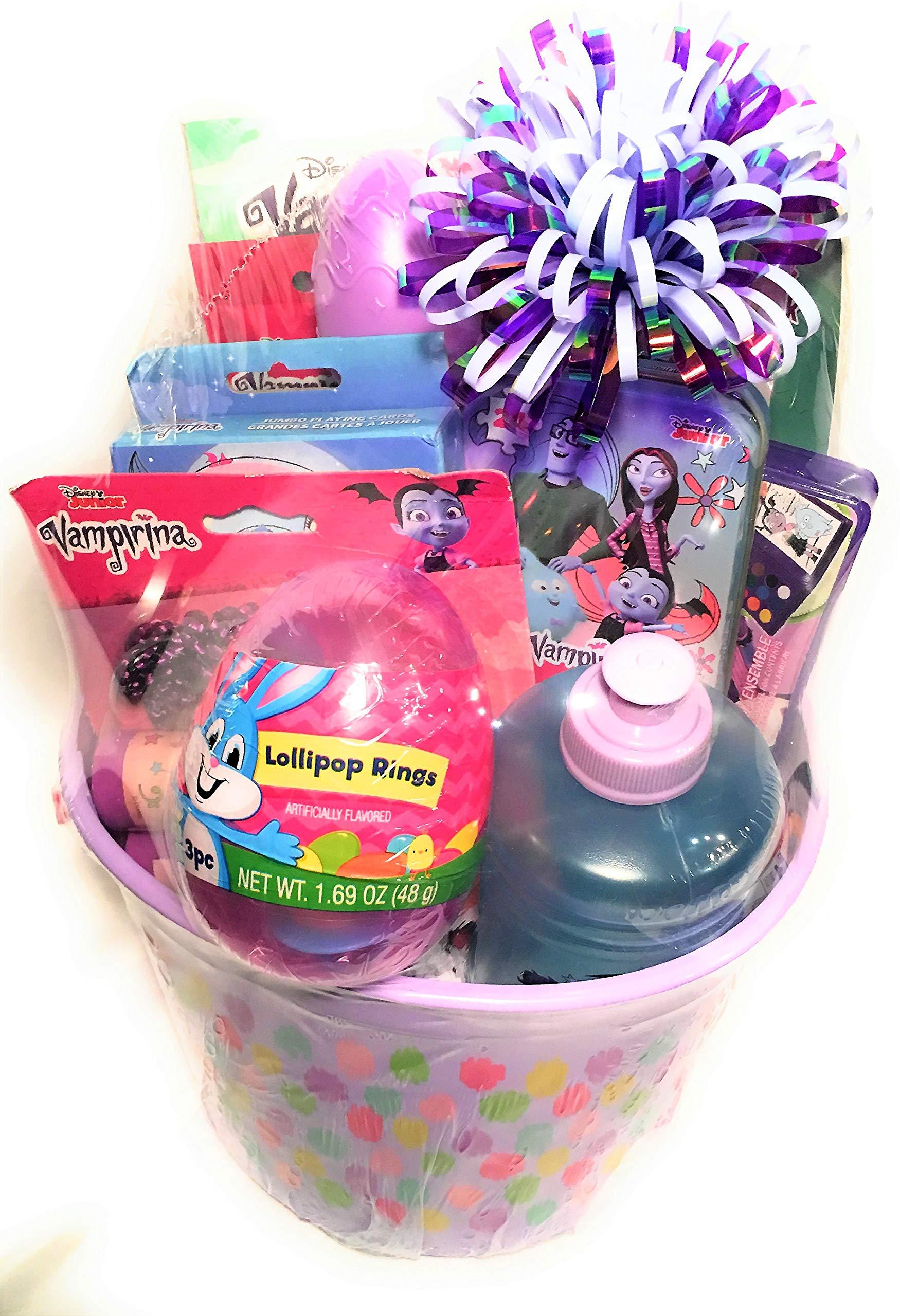 Easter Basket for Kids VAMPARINA Themed