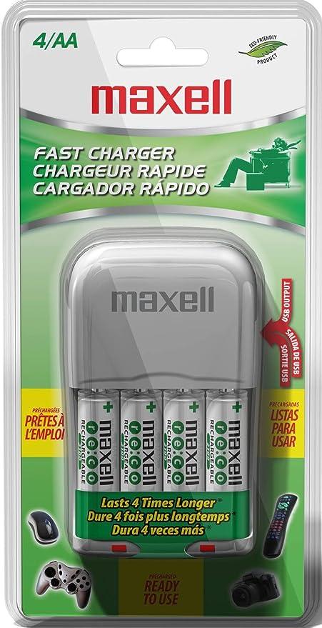 Amazon.com: Maxell BC-300 Nickel-Metal Hydride Batería ...