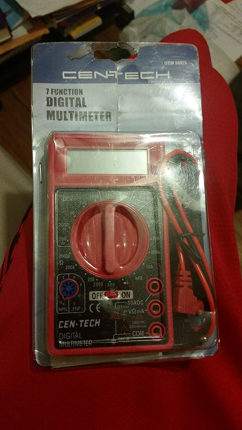 Cen Tech 7 Function Digital Multimeter Automotive From Reliable Circuit Suppliers On