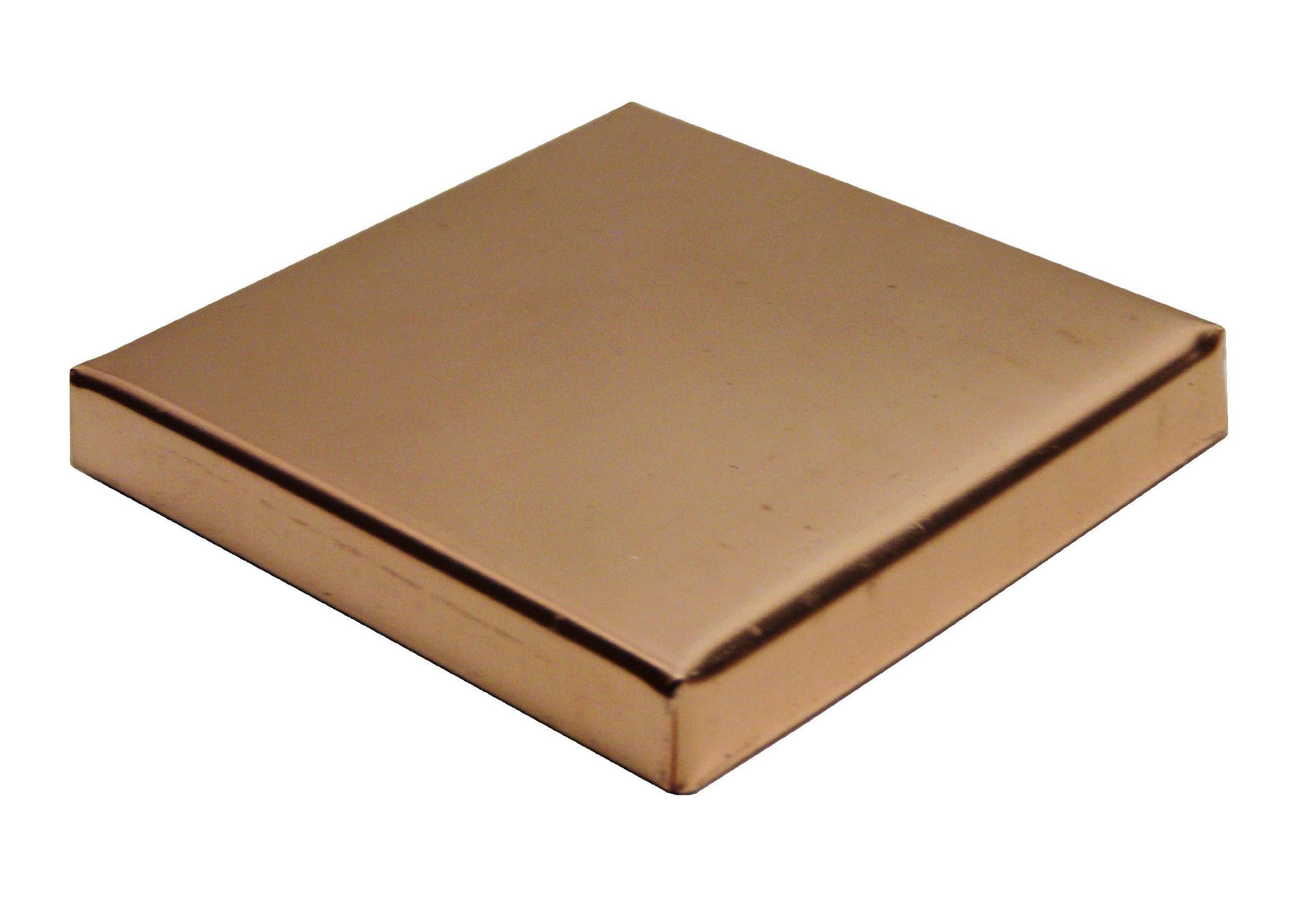 5 1/2'' X 5 1/2'' Low Profile Copper Post Cap