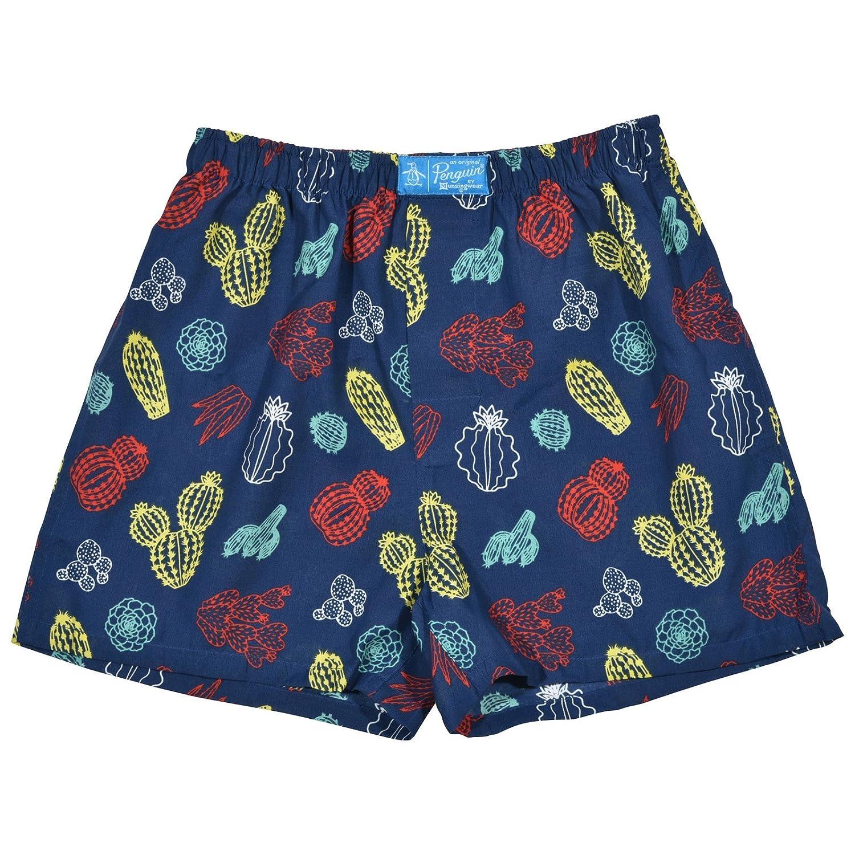Original Penguin Boys 4-Pack Woven Boxer Shorts