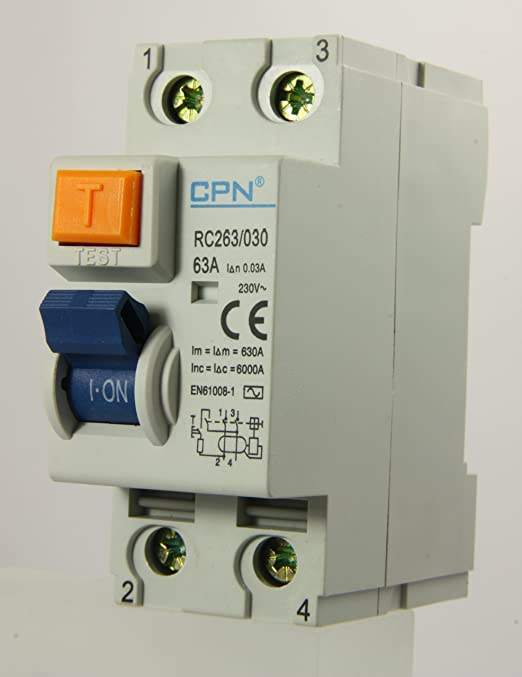 CPN Cudis RCD Circuit Breaker 80A 63A RC280//030 RC263//030 Free Post