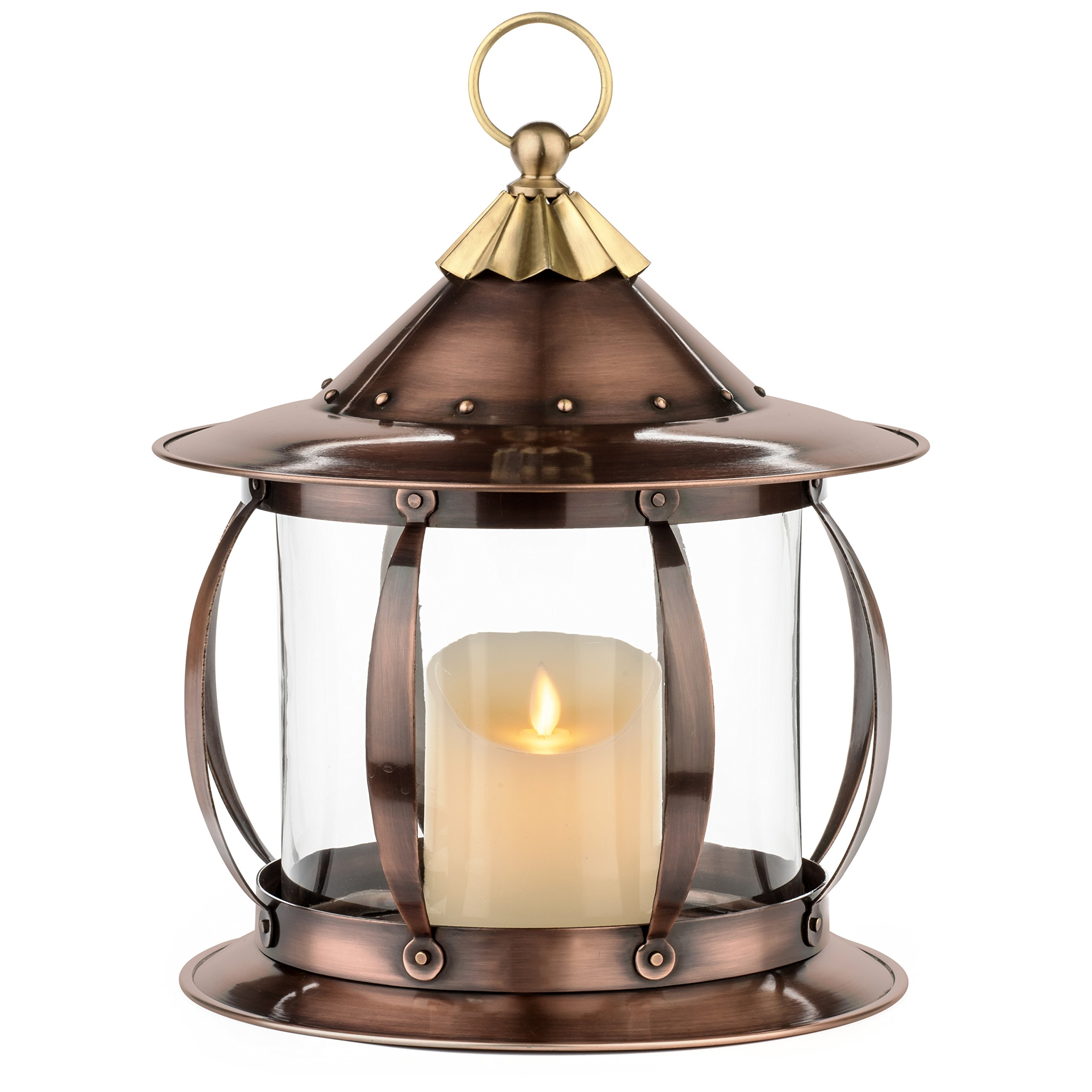 H Potter Decorative Candle Lantern Holder Table Top Patio Outdoor Indoor