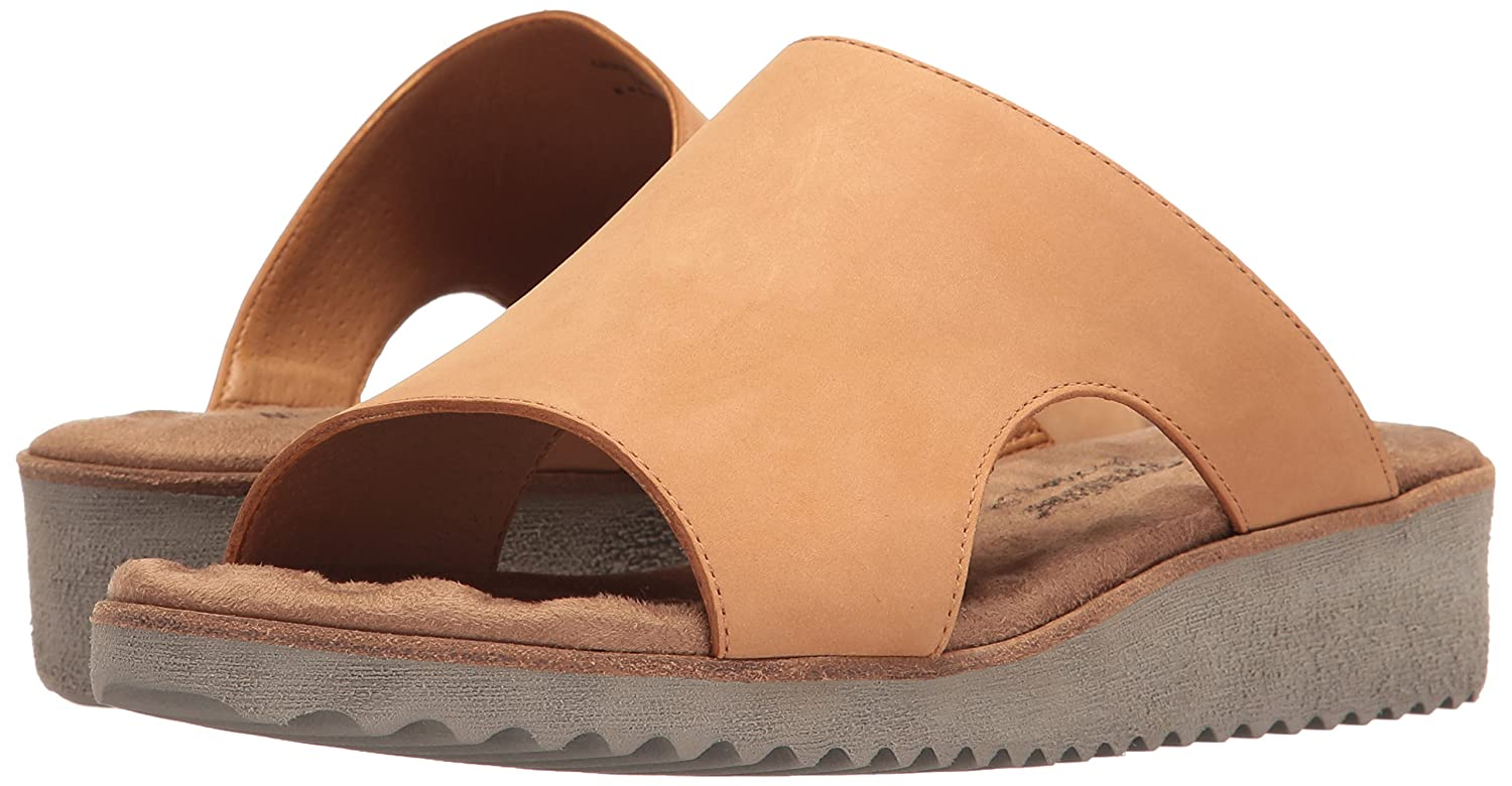 Walking Cradles Women's Hartford Flat Sandal B00BX2HUHU 7 W US|Camel