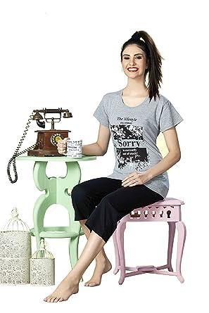 b383bd16dc Sentina Fancy 100% Cotton Nightsuit for Women