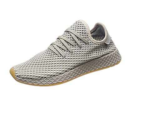 aff9bc0cc7c adidas Men s s Deerupt Runner Gymnastics Shoes White  Amazon.co.uk ...