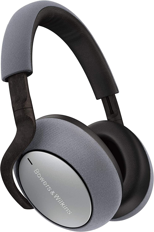 Bowers & Wilkins PX7 Auriculares Circumaurales Bluetooth con Cancelación Adaptativa de Ruido - Silver