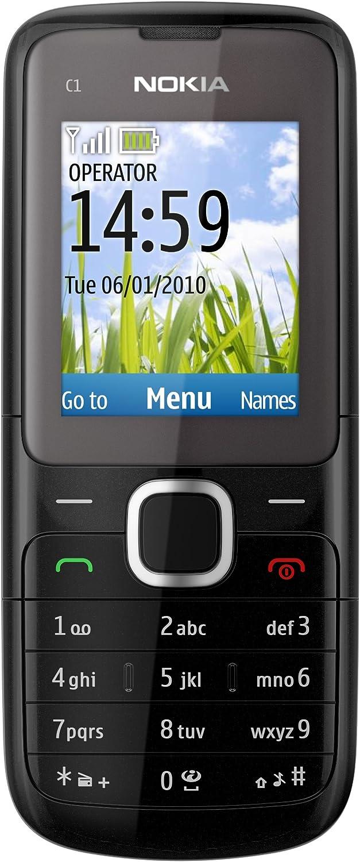 Nokia C1-01 - Móvil libre (pantalla de 1,8