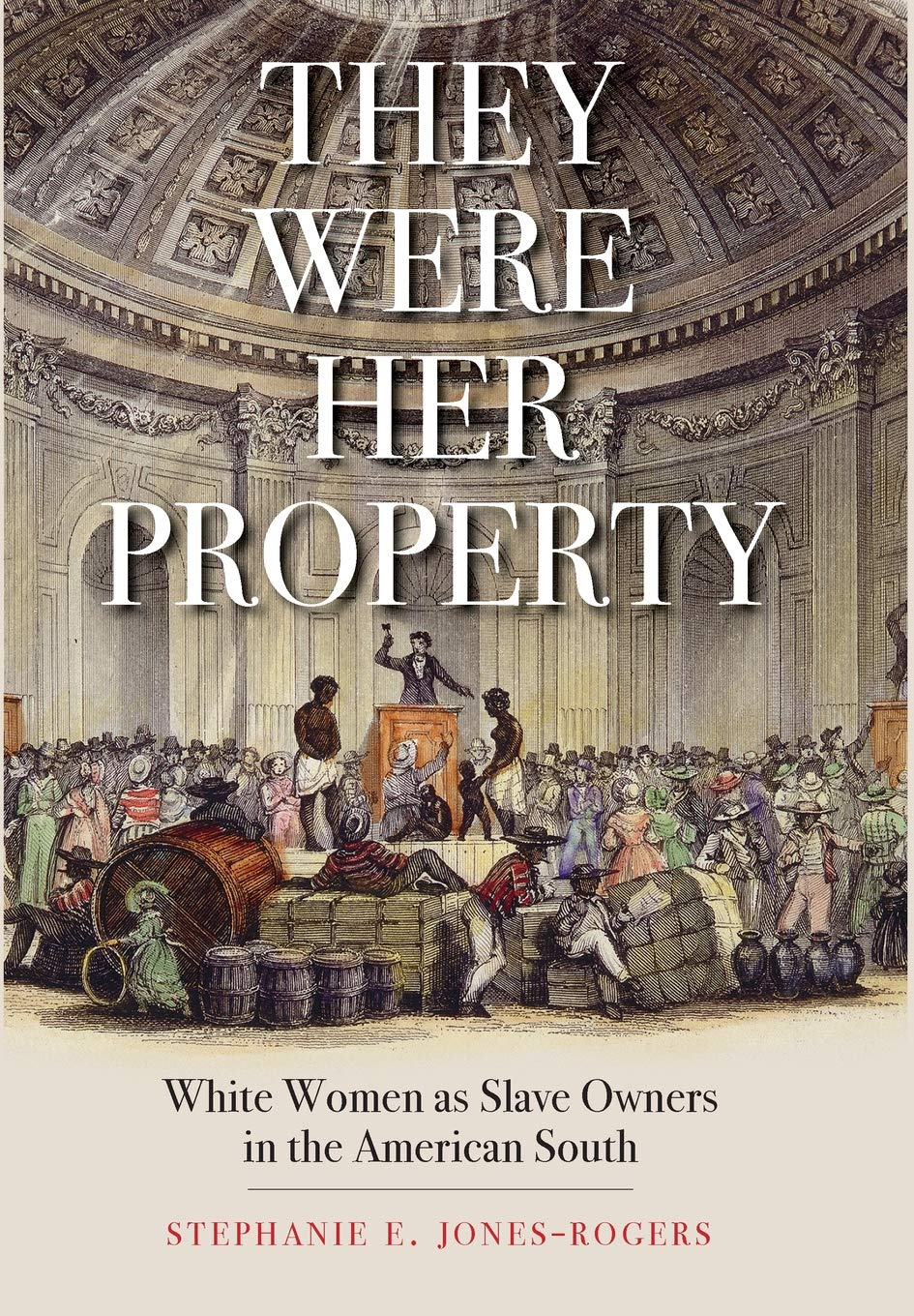 Image result for They Were Her Property: White Women as Slave Owners in the American South by Stephanie E. Jones-Rogers