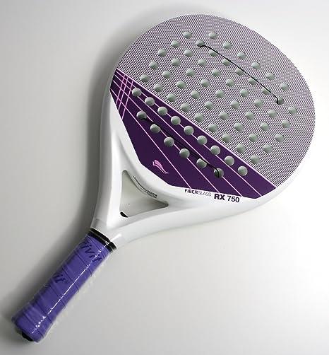 Padel Raqueta de tenis rx750 + 3 pelotas Padle Racket fibra ...