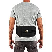 Ergodyne ProFlex 1500 Weight Lifters Style Back Support Belt, Large, Black