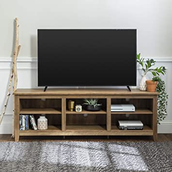 Universal Ltd Tv Stand For 75 Inch Tv Entertainment Center 75 Inch Tv With Storage And Wood Look Very Sturdy Tv Stand Reclaimed Barnwood Furniture Decor