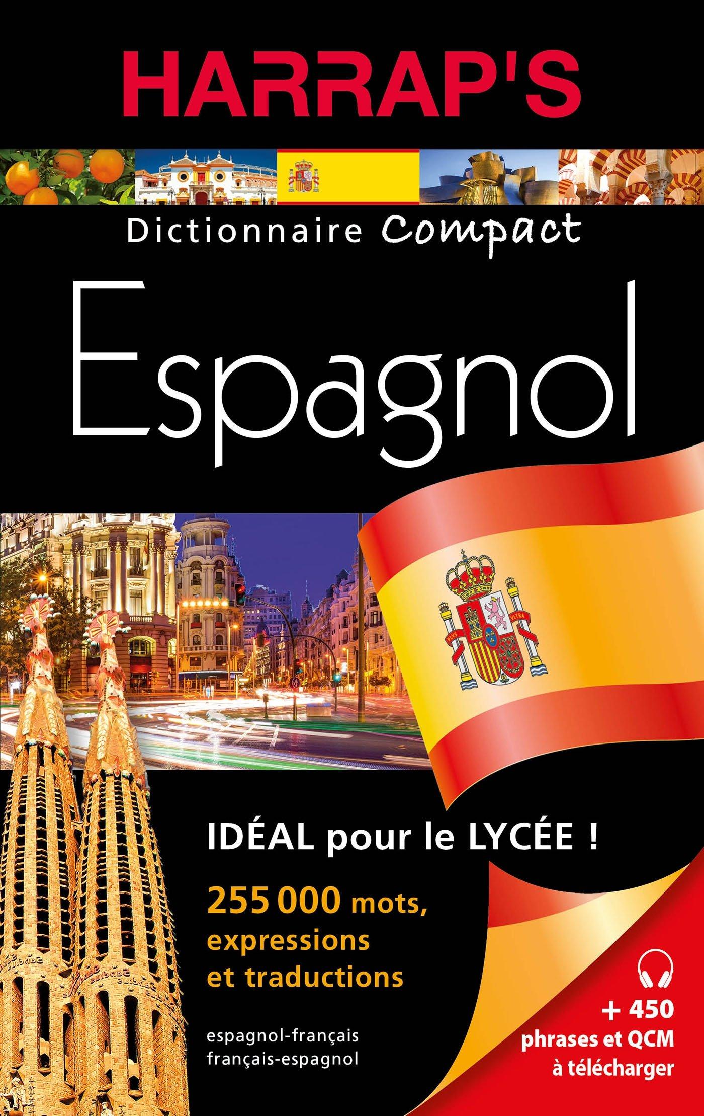 Amazon Fr Harrap S Dictionnaire Compact Espagnol Collectif Livres