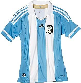 Amazon.com: Argentina Home Jersey 2011/12, XL, Azul/Blanco ...