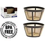 GoldTone Brand Reusable Basket Filter fits Bonavita Coffee Makers and Brewers. Replaces your Bonavita Coffee Filter and Bonavita Reusable Coffe Filter [2 PACK]