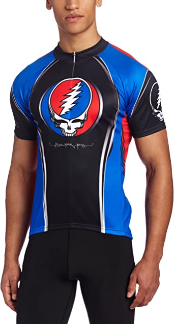 Primal Wear Grateful Dead Team Steal Your Face Cycling Jersey Men/'s Short Sleeve