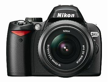 8b90294e24f9b5 Amazon Canada  Nikon D60 DSLR Camera (Body Only) (OLD MODEL)