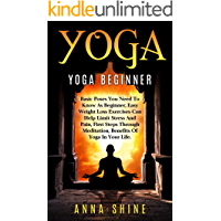 Yoga Beginner: Easy Yoga Poses, Best Weight Loss Exercises, Health and Fitness, Yoga Asanas, Yoga Basic Poses, Basic Yoga Postures