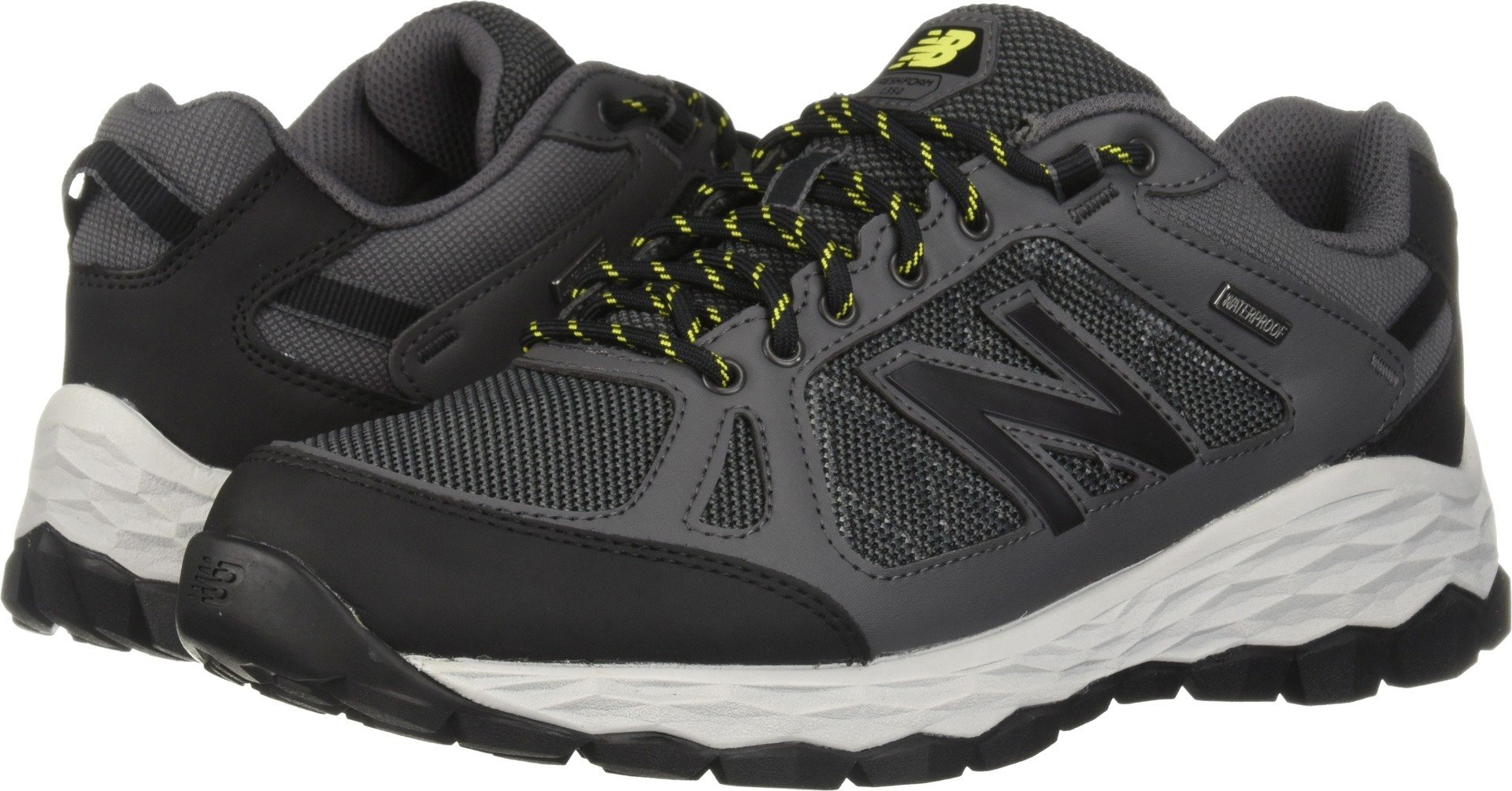 New Balance Men's 13501 Fresh Foam Walking Shoe, Grey, 10.5 2E US by New Balance