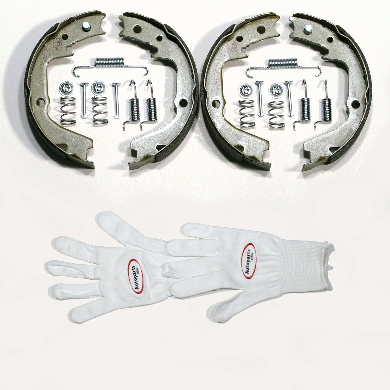 Autoparts-Online Set 60005845 Handbremse//Feststellbremse f/ür Hinten//f/ür die Hinterachse