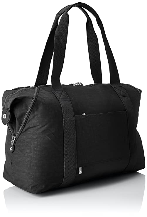 Kipling Art M, Medium Travel Tote, 58 cm, 26 liters, Black (True Black)