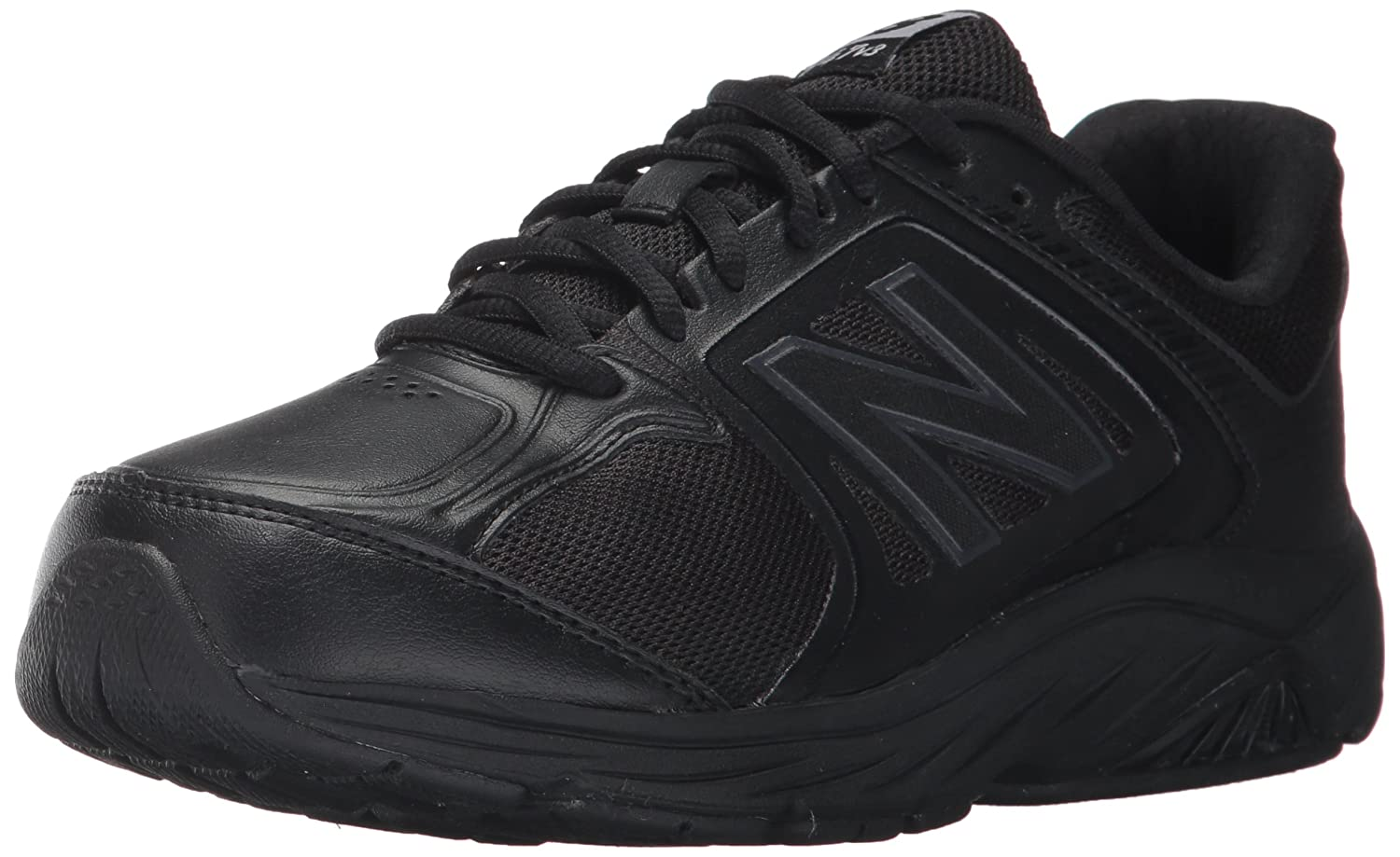 New Balance Women's 847v3 Walking Shoe B01NB9BNTS 8.5 2E US|Black/Black