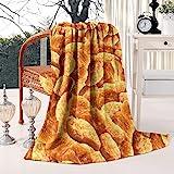 HSJOTT Chicken Nuggets All OverSuper Soft Flannel Fleece Blanket, Warm Sofa Blanket | 50x60 Inches